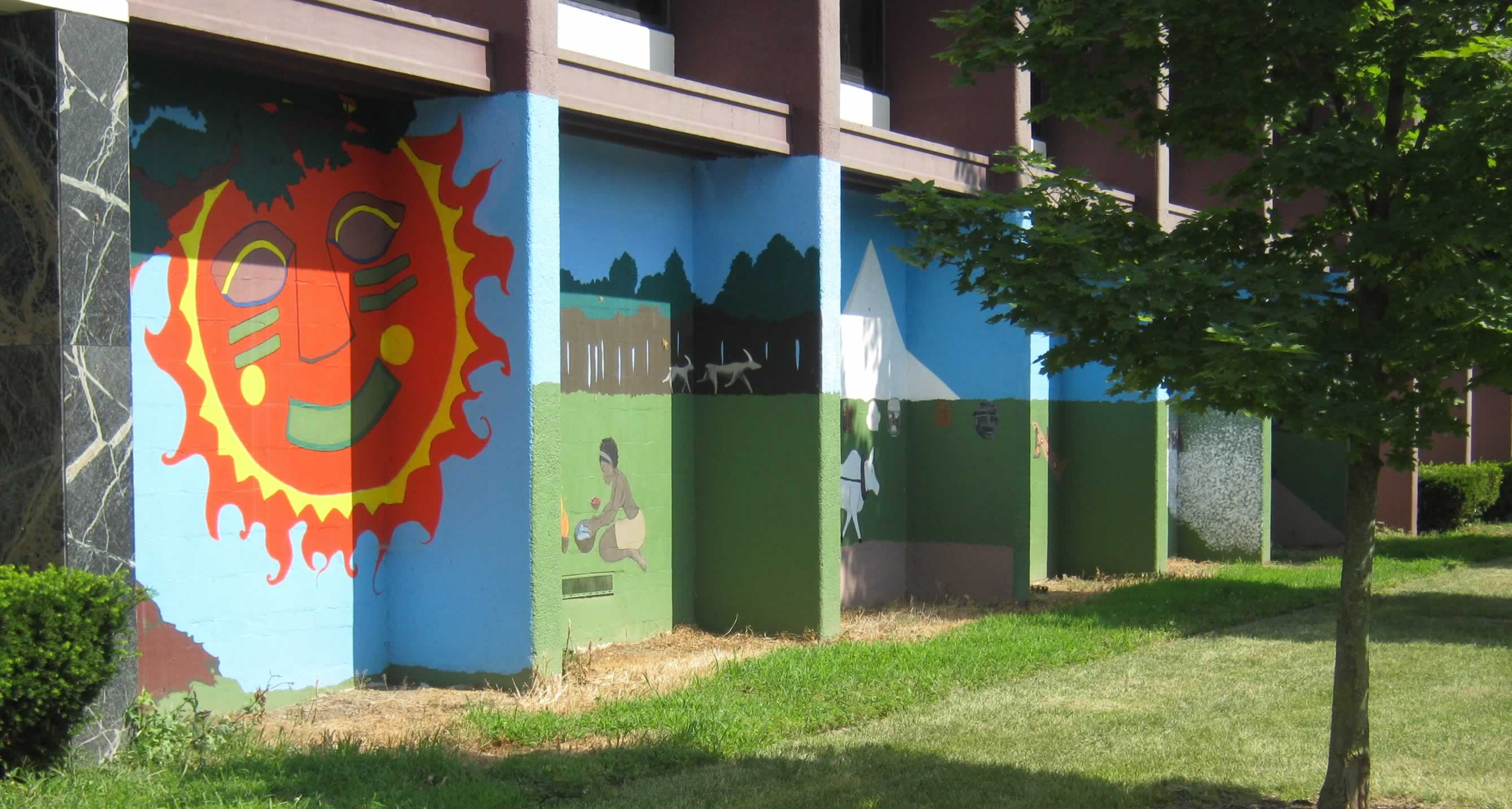 Mural black has always been green for African american mural