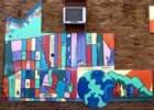 Clintonville Community Market Mural TN